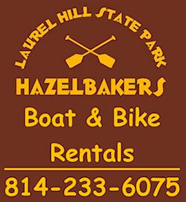 Hazelbaker's Lake Rentals | Laurel Hill State Park
